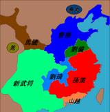 新武将勢力図2
