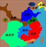 新武将勢力図