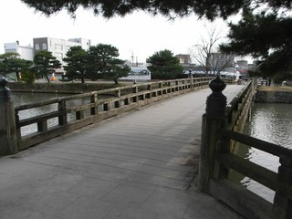 【Caplio R6】松江城周辺の風景