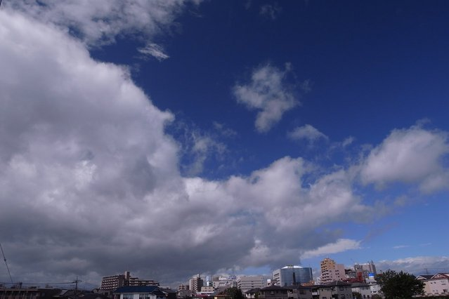 【GX200】台風18号の中心部付近