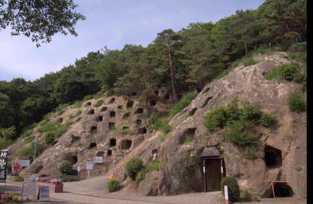 【GX200】古墳時代のお墓と言われている吉見百穴へ行ってきました!