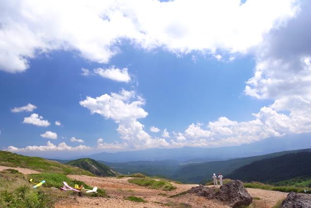 [GX200]白根山や破風岳などPLで撮影