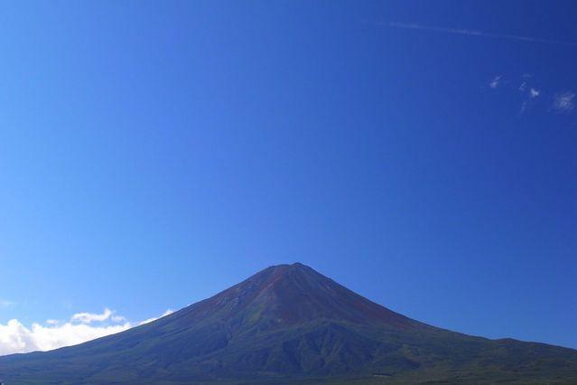 【GX200】河口湖と夏の富士山