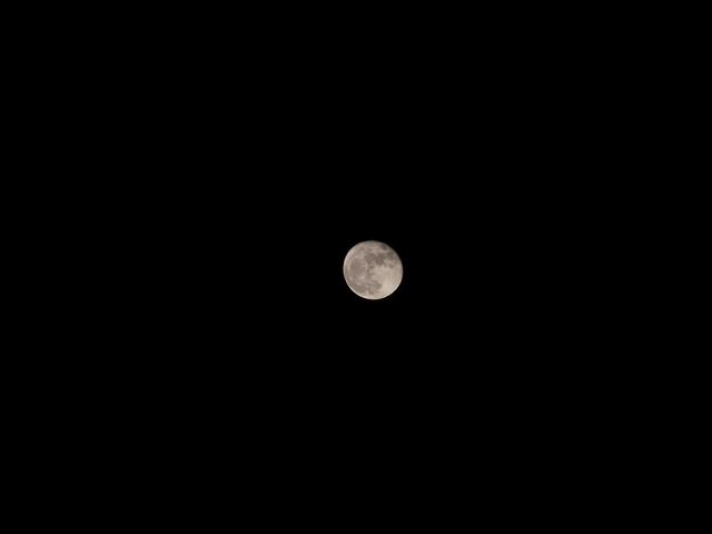 【CX3】月を撮影してみました