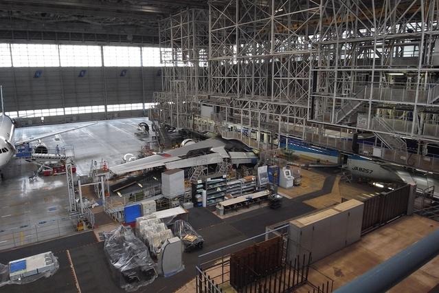 【GX200】ANA整備工場見学に行ってきた…その1