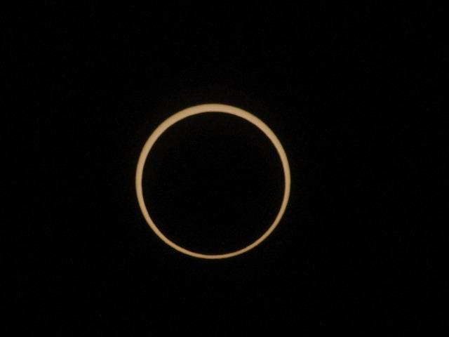 2012年5月21日の金環日食を撮影!