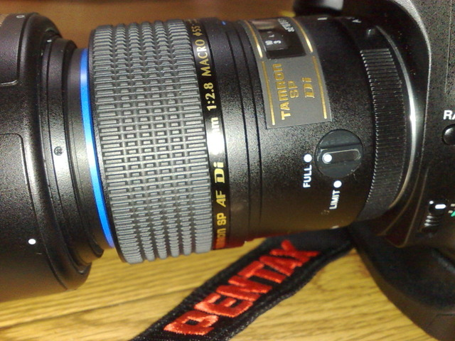 【K200D】SP AF90mm F/2.8 Di MACRO 1:1 (Model272E)を買ってみましたー