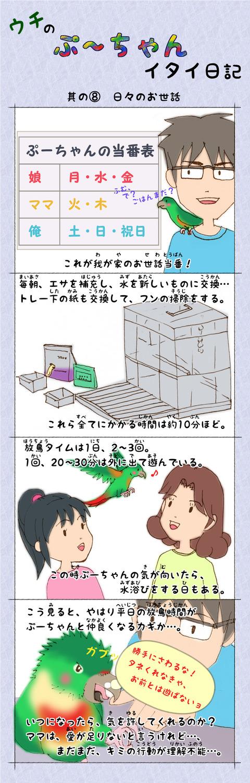 ぷ~ちゃん日記_8話