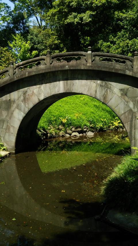 後楽園_月見橋