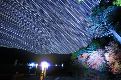 白駒池天体写真-2