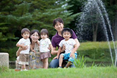 家族写真っていいですよねー