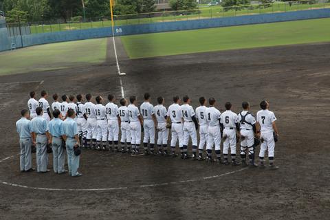 熱戦続く 夏の高校野球 長野県大会の撮影に行ってきました。
