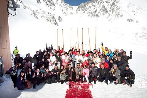 標高2612メートル!中央アルプス駒ヶ岳で行われた純白の結婚式に参加してきました。