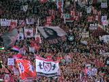 ゴール裏ゲート旗07年4月7日浦和レッズ対ジュビロ磐田戦