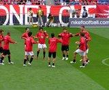 浦和選手の練習風景2007年04月21日浦和レッズ対川崎フロンターレ