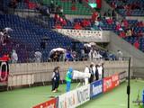 07年04月11日ACL AFCチャンピオンズリーグ浦和レッズ対上海申花、上海申花サポーター