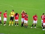 07年7月7日ナビスコカップ浦和レッズ対ガンバ大阪試合後の浦和レッズ選手