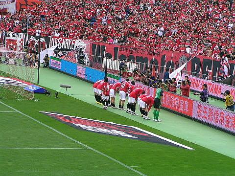 浦和レッズVS横浜F・マリノス