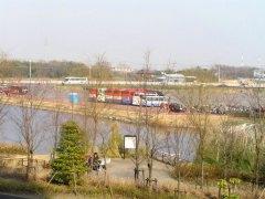 埼玉スタジアムの調整池