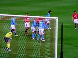 07年4月7日浦和レッズ対ジュビロ磐田戦でジュビロゴールに攻め込む浦和レッズ
