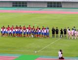 試合前の整列07年7月8日浦和レッズレディース対伊賀
