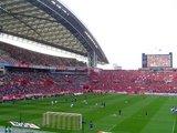 07年5月13日浦和レッズ対ガンバ大阪試合前練習