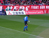 07年3月17日埼玉スタジアム浦和レッズ対ヴァンフォーレ甲府戦での都築選手