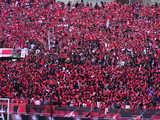 07年3月17日埼玉スタジアム浦和レッズ対ヴァンフォーレ甲府ゴール裏レッズサポーター