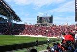 浦和北ゴール裏05年3月5日浦和レッズ対鹿島アントラーズ