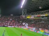 07年4月7日浦和レッズ対ジュビロ磐田戦試合前の埼玉スタジアム