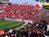 07年3月17日埼玉スタジアム浦和レッズ対ヴァンフォーレ甲府レッズサポーター