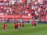 07年3月17日埼玉スタジアム浦和レッズ対ヴァンフォーレ甲府戦での浦和レッズ選手