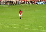 田中達也選手。2007年8月1日浦和レッズ対サンフレッチェ広島