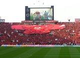 07年5月13日浦和レッズ対ガンバ大阪浦和レッズデカユニ