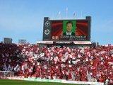 浦和ゴール裏05年3月5日浦和レッズ対鹿島アントラーズ