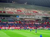 上海申花選手の練習07年04月11日ACL AFCチャンピオンズリーグ浦和レッズ対上海申花