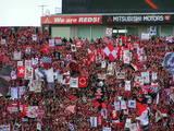 07年3月17日埼玉スタジアム浦和レッズ対ヴァンフォーレ甲府浦和ゴール裏ゲート旗