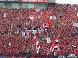 浦和レッズゴール裏07年7月7日ナビスコカップ浦和レッズ対ガンバ大阪