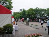 鴻巣陸上競技場入り口付近07年6月24日浦和レッズレディス対日テレベレーザ