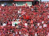 レッズサポーター07年3月17日埼玉スタジアム浦和レッズ対ヴァンフォーレ甲府