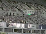 埼玉スタジアム記者席2007年8月1日浦和レッズ対サンフレッチェ広島