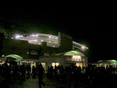 埼玉スタジアムの夜景