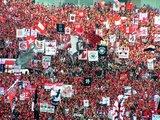 ゴール裏ゲート旗07年5月13日浦和レッズ対ガンバ大阪