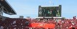 浦和レッズのデカ旗05年3月5日浦和レッズ対鹿島アントラーズ