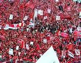 ゴール裏、2007年04月21日浦和レッズ対川崎フロンターレ