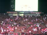 07年4月7日浦和レッズ対ジュビロ磐田戦での浦和レッズサポーター