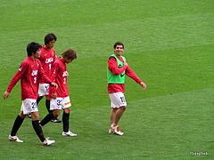 ナビスコカップ 浦和レッズ対アルビレックス新潟