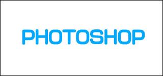photoshopで2.0的なロゴA