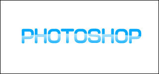 photoshopで2.0的なロゴD