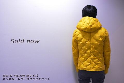 イサムカタヤマバックラッシュ カンガルーレザーダウンジャケット 1363-02